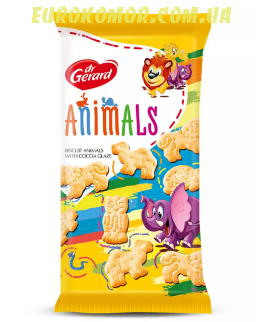 Печенье dr. Gerard Animals 165 гр
