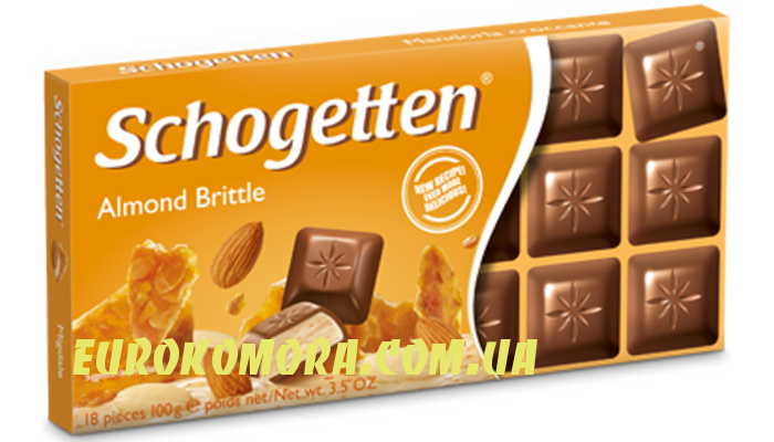 Шоколад Schogetten Almond Brittle 100 гр
