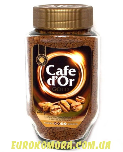 Кофе растворимый Cafe D'or Gold 200 гр