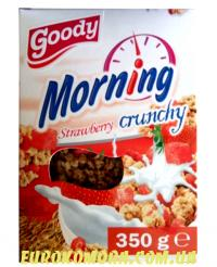 Кранчи Goody Morning Strawberry 350 гр